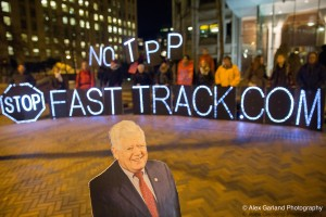 Thank you Rep. McDermott for speaking out against Fast Track for the TPP. We're looking to you to continue opposing this undemocratic process.