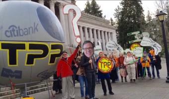 Rebel Alliance v. TPP Death Star: Dual Battles make news this week!