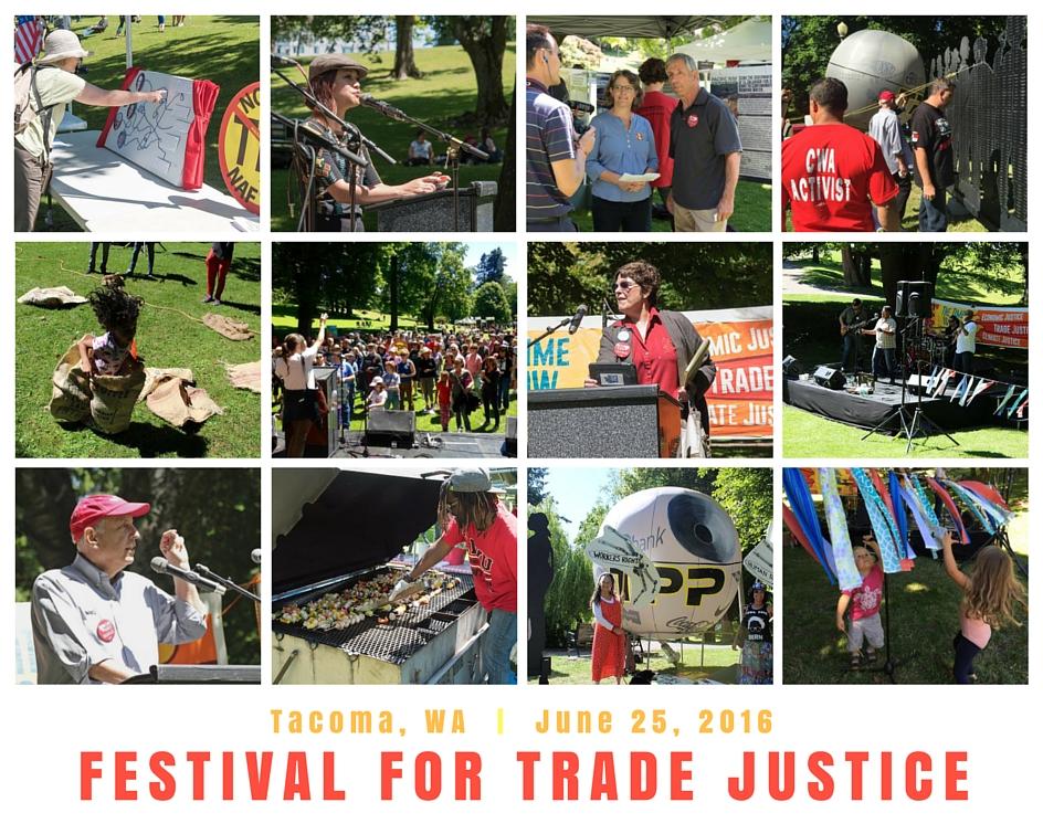 FESTIVAL FOR TRADE JUSTICE