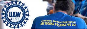 UAW 4121 Logo