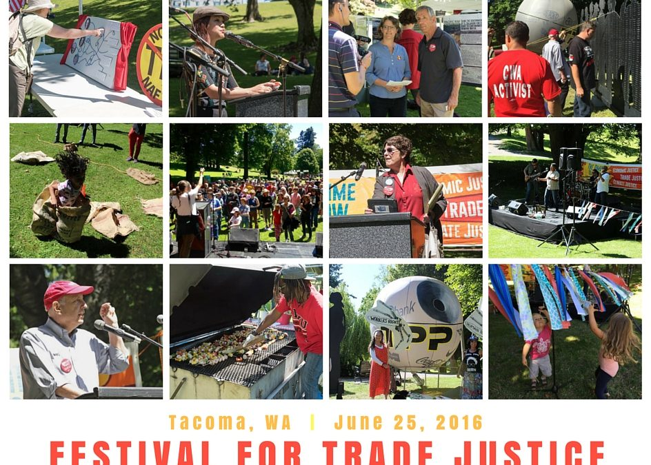Hundreds converge in Tacoma for Trade Justice Festival