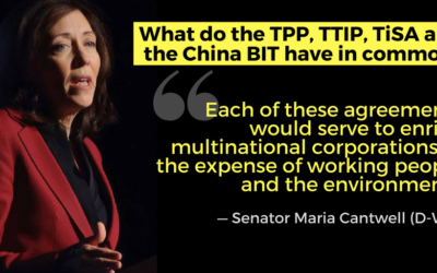 Senator Cantwell Challenges Trump Nominee to Rethink Our Approach to Trade