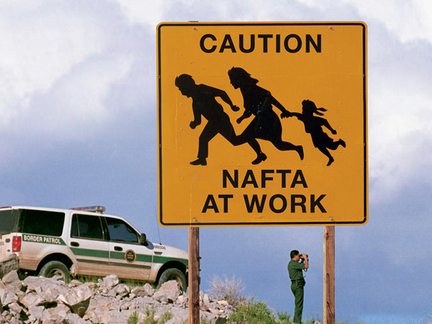 Trump softens stance on NAFTA
