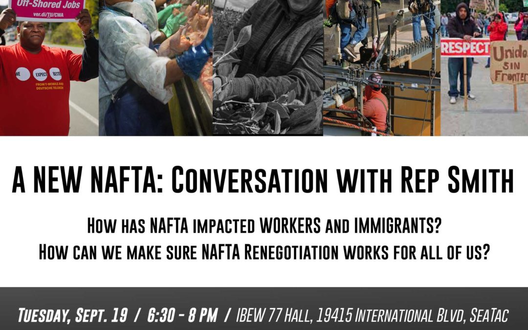 -POSTPONED- Public Hearing: A New NAFTA